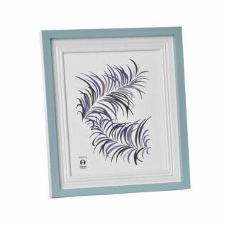 Fotókeret  üveg világos kék 20x25cm