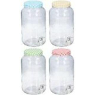 Ital adagoló üveg 3L 14x26cm 4 szín