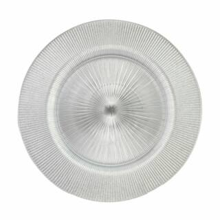 Lapos tányér Radiant ezüst 33cm