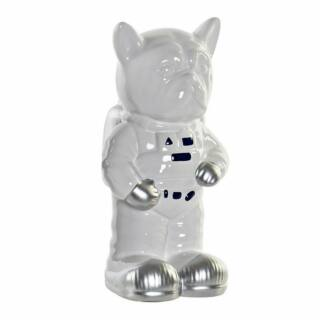 Persely kutya asztronauta fehér 11x11x20cm