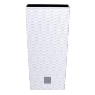 Virágcserép 225 mm Fehér Rato square Prosperplast