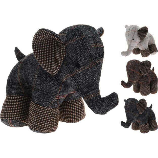 Ajtótámasztó elefánt több féle színben 28x17x23cm