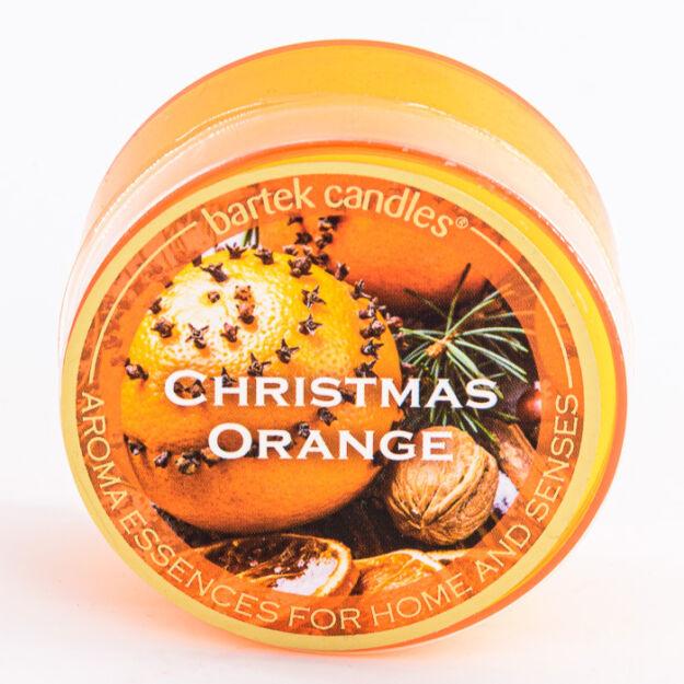 Bartek dekorált illatos pohár mini christmas orange