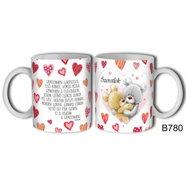 Bögre szerelemben lubickolva..., szerelmes ajándék valentinnapra