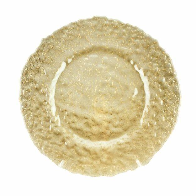 Desszertes tányér Terra mézes 21cm