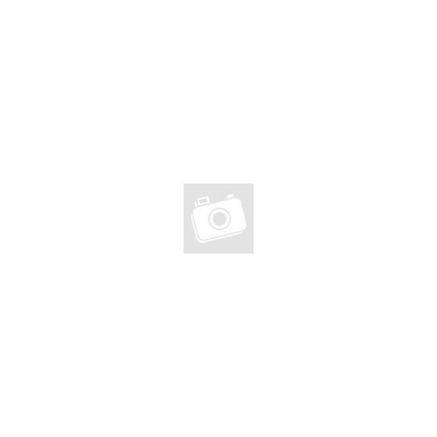 Fa képkeret ház formájú kék-barna