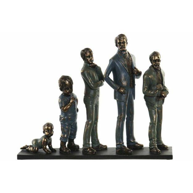 Figura család 41x10x33cm