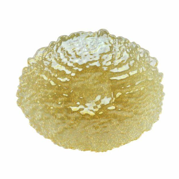 Nagy kínáló tál Terra mézes 40cm