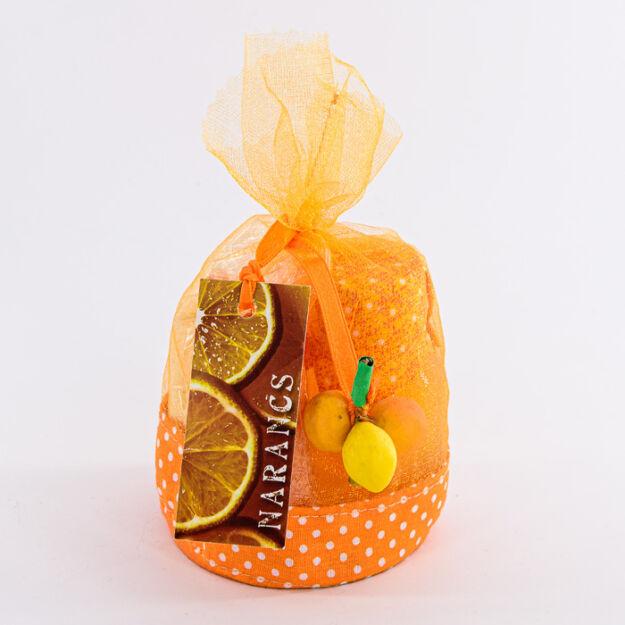 Organza szett narancs