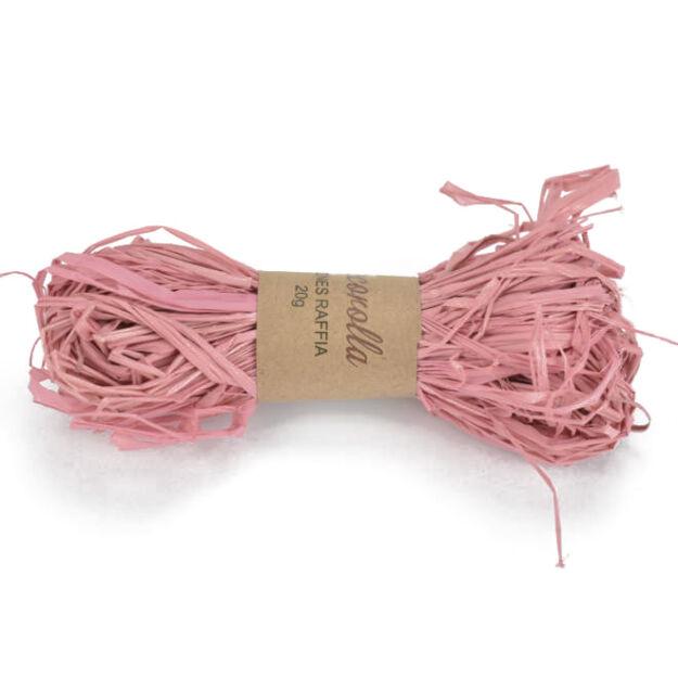 Raffia rózsaszín 20gr.