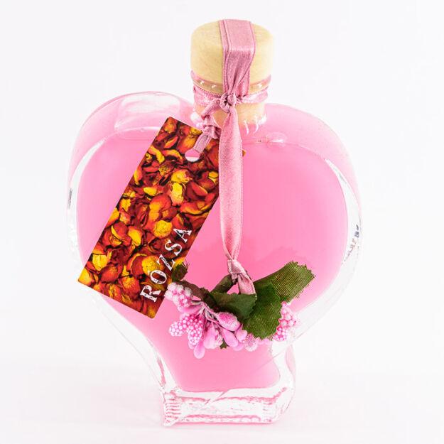 Rózsa illatú Habfürdő üveg4