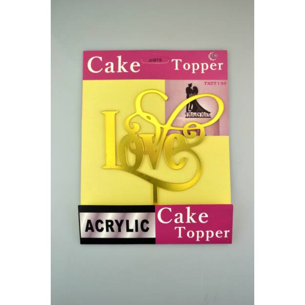 Sütemény díszítő pálca LOVE