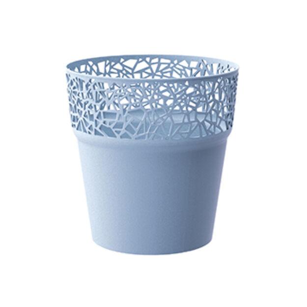 Virágcserép 120 mm Jég kék TREE Prosperplast