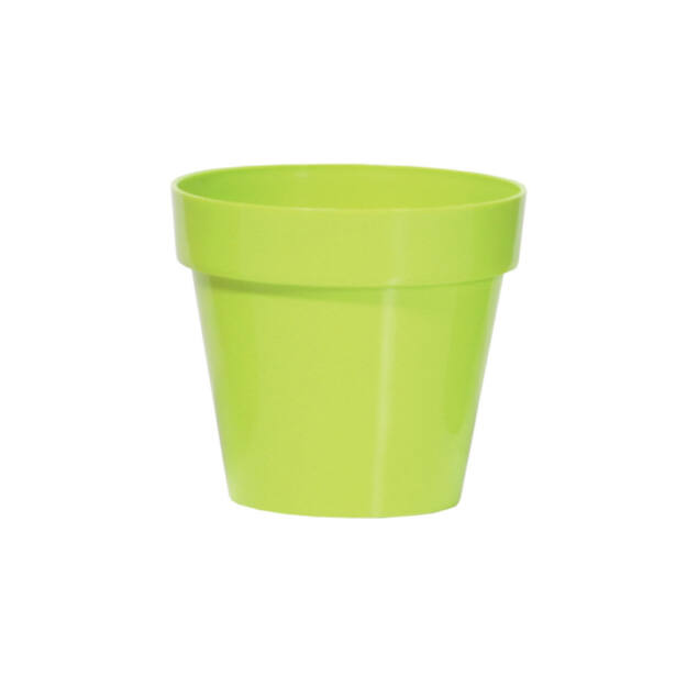 Virágcserép 170 mm Lime Cube shine Prosperplast