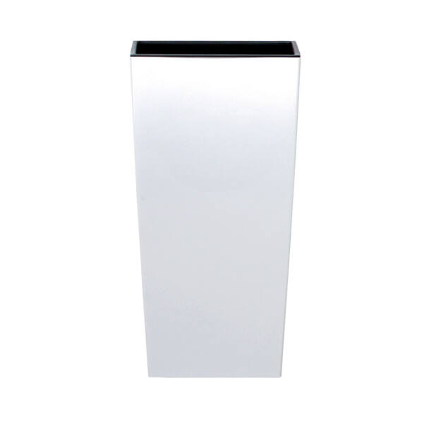 Virágcserép 195 mm Fehér Urbi square Prosperplast