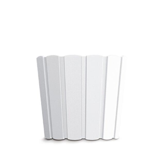 Virágcserép 239 mm Fehér BOARDEE BASIC Prosperplast