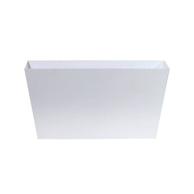 Virágcserép 600 mm Fehér Tubus case Prosperplast