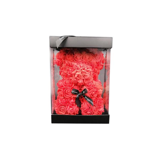 Rózsamaci 24cm díszdobozban - Piros